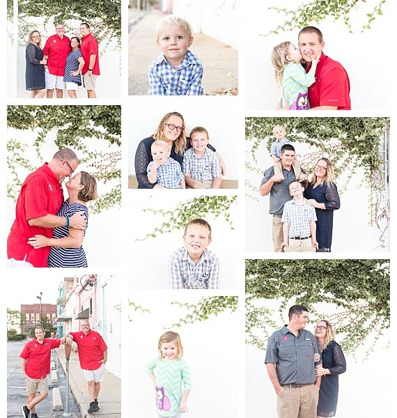 NC Family Photographer | Downtown Wilson NC