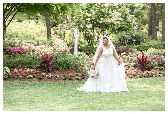 WRAL Azalea Garden Wedding   Adriane & Charles