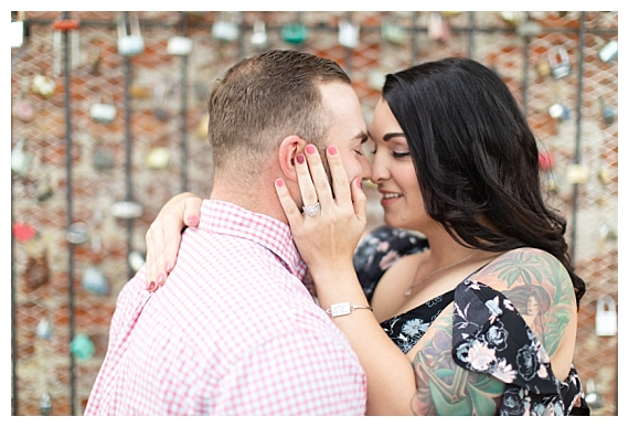 Downtown Fayetteville   Hannah & Stephen Engagement Session