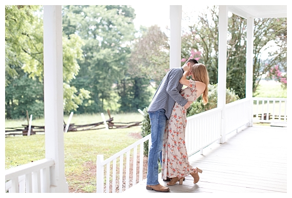 The Alston House   Clare & Cody NC Engagement
