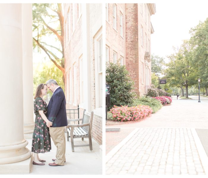 UNC Chapel Hill Engagement | Carson & Aaron | NC Wedding Photographer