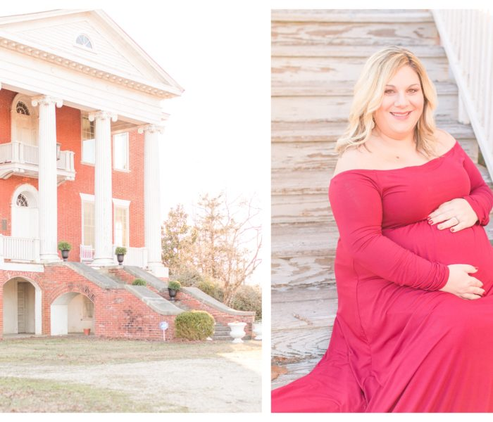 Stonewall Manor Maternity Session | Christine & Marcus