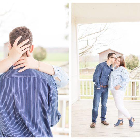 The House in the Horseshoe Engagement Session | Emily & Chris | NC Wedding Photographer