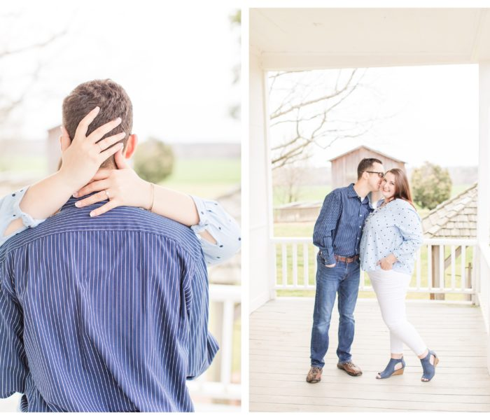 The House in the Horseshoe Engagement Session | Emily & Chris | NC Wedding Photographer