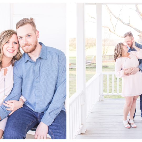 The House in the Horseshoe | Engagement Session | Halie & Michael | NC Wedding Photographer