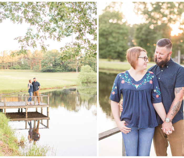 Bre & Harrison| Downtown Engagement Session | Christina Chapman Photography