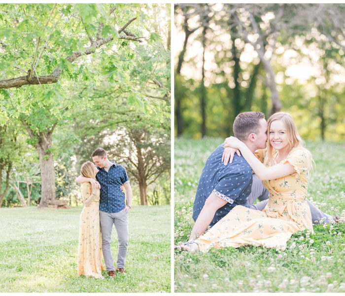 The House in the Horseshoe | Jenna & Kyles Engagement Session| Wedding Photographer