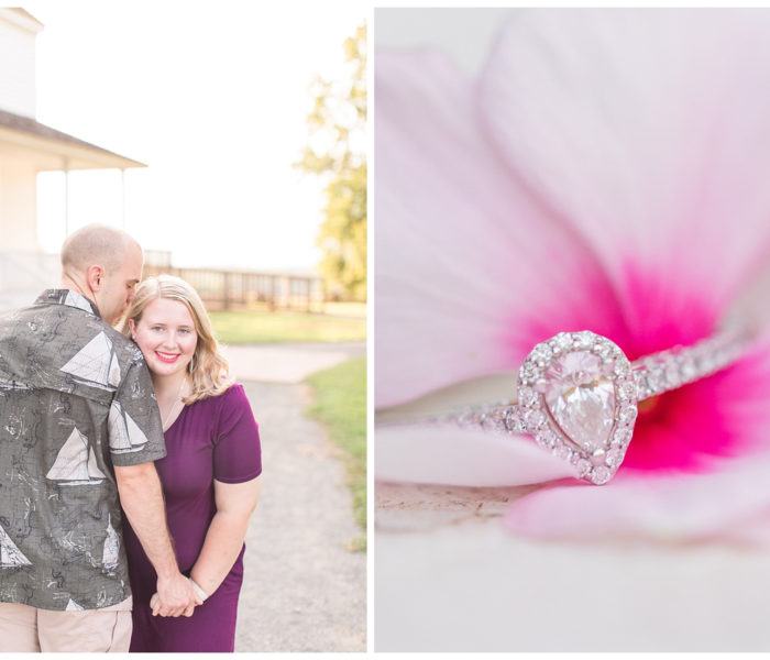 Rhiannon & Kevin Engagement Session | The House in the Horseshoe | VA Wedding Photographers