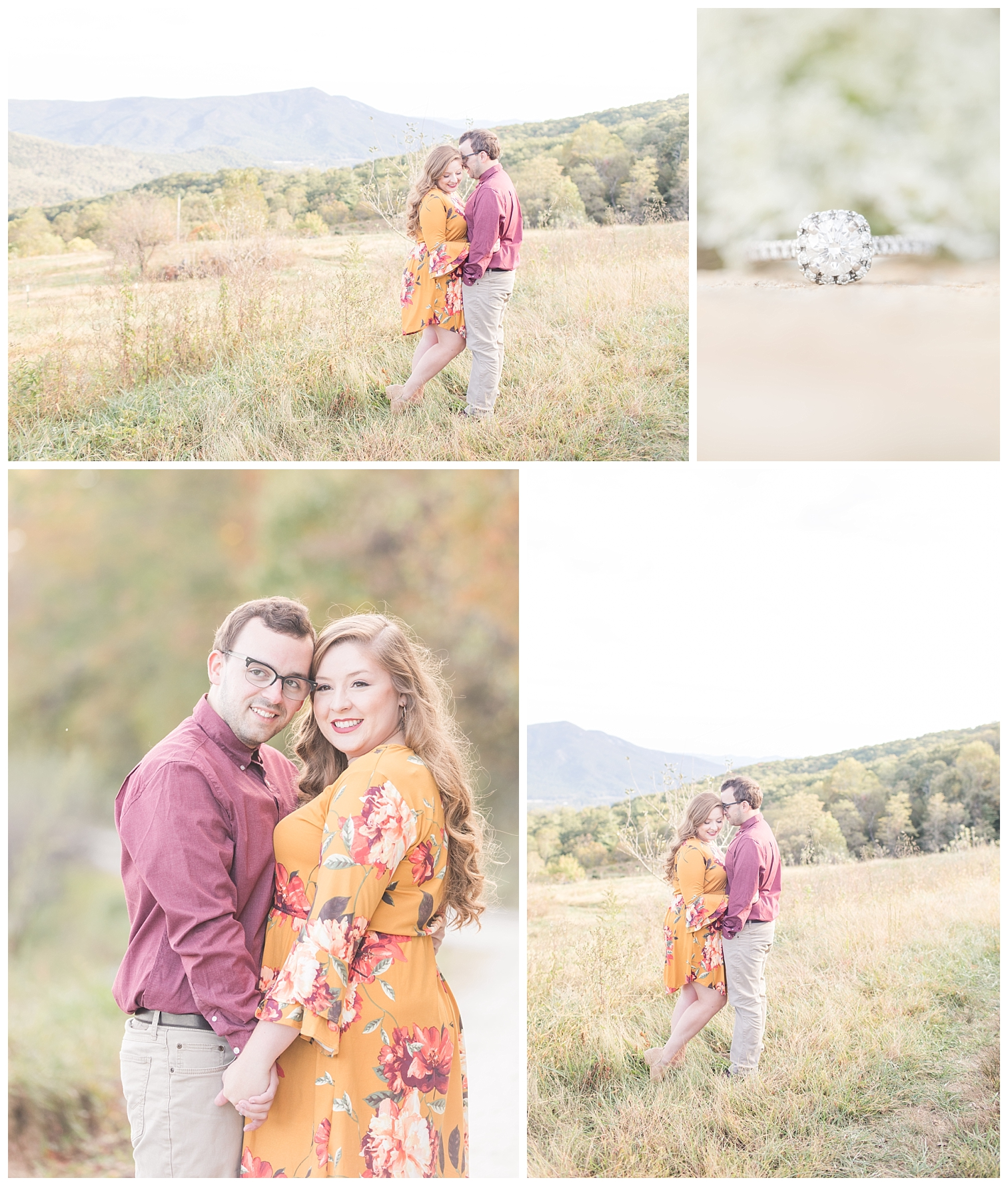 Natalie & Parker | Fall Engagement Session | VA Wedding Photographer