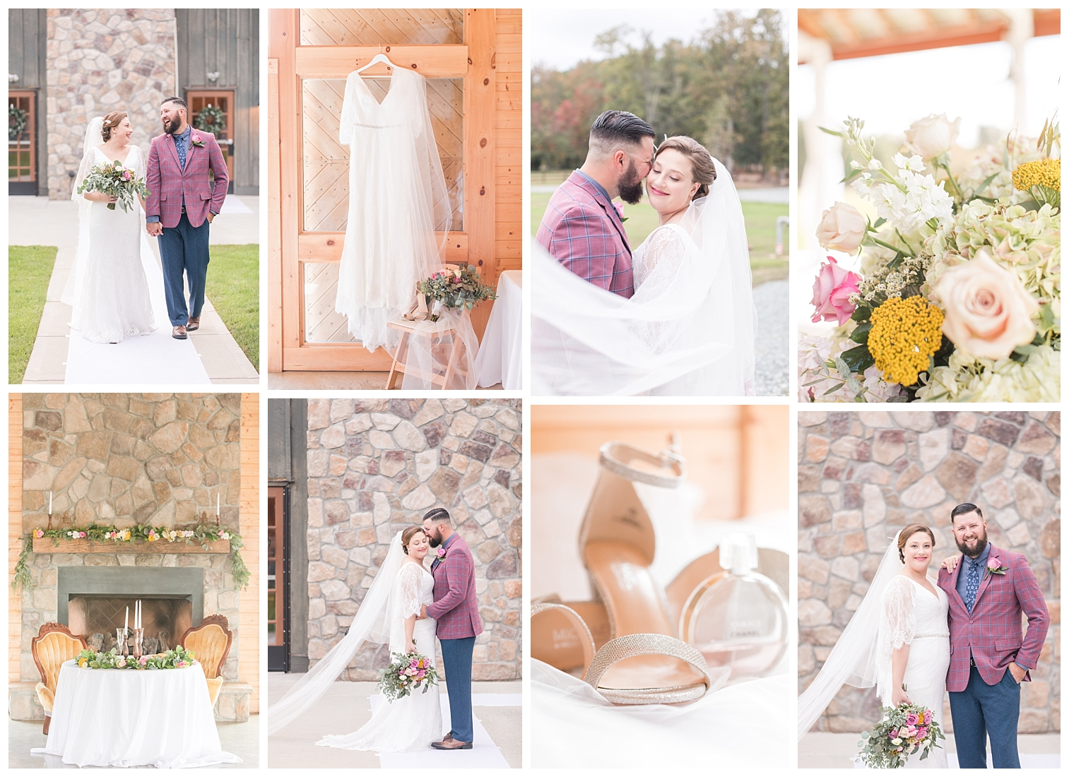 Bre & Harrison | Fall Wedding| VA Wedding Photographer | Christina Chapman Photography