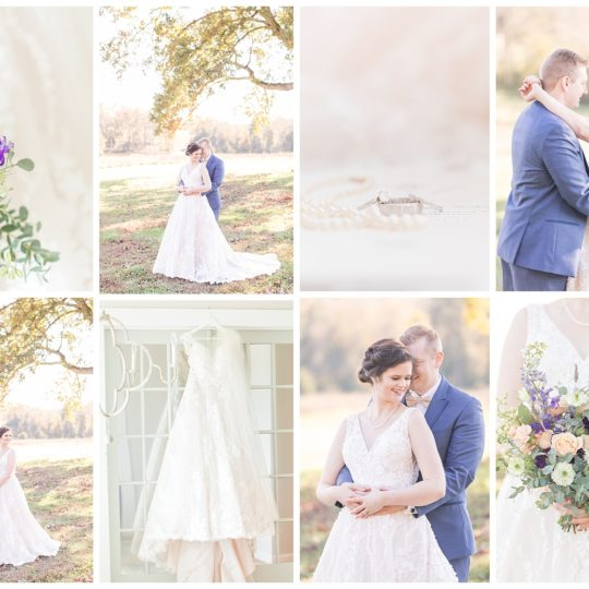 Lindsay & Joey | A Sunset Wedding | Virginia Wedding Photographer | Christina Chapman