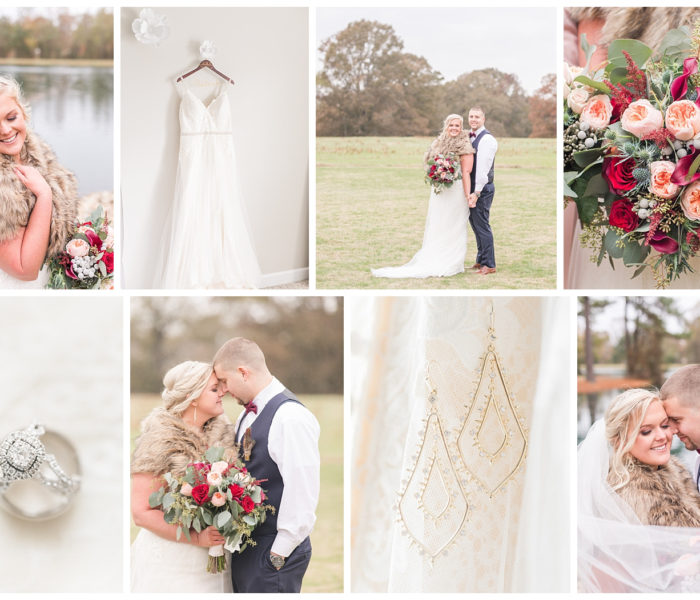 Amber & Robert | Winter Wedding | Virginia Wedding Photographer | Christina Chapman