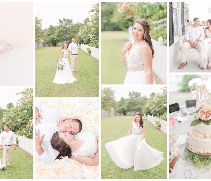 Ashley & Tyler | Intimate Wedding | Virginia Wedding Photographer