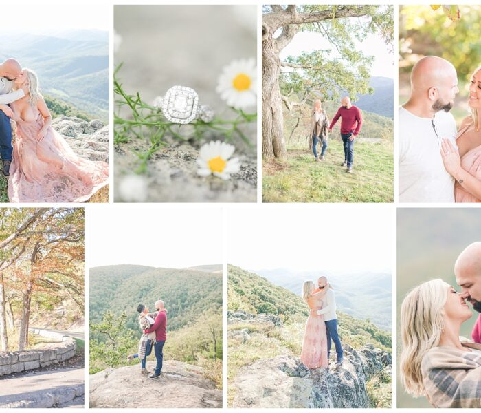 Shelbie & Matt | Engagement | Blue Ridge Parkway | Virginia Wedding Photographer