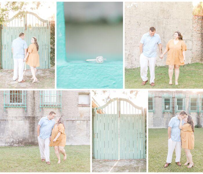 Lauren & Brandon Engagement| Atalaya Castle | VA Wedding Photographer