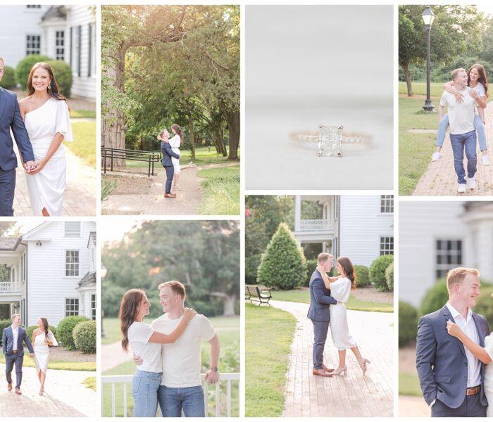 Historic Oak View   Montana & Mike   Engagement   Northern VA Wedding Photographer   Christina Chapman Photography