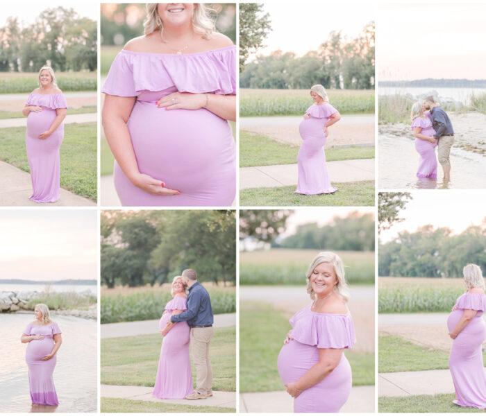 Amber & Robert   Jefferson Patterson Park Maternity Session   Maryland Wedding Photographer   Christina Chapman
