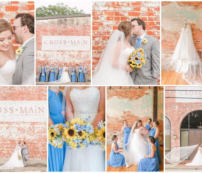 Natalie & Parker   Cross + Main   Summer Wedding   Virginia Wedding Photographer   Christina Chapman