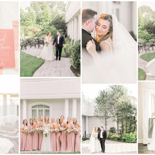 Lauren & Michael   The Mansion at Mountain Lakes   New Jersey Wedding Photographer   Christina Chapman