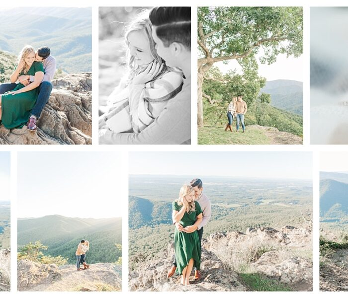 Lindsay & Josh   Virginia Blue Ridge Parkway   Northern VA Wedding Photographer   Christina Chapman
