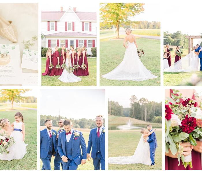 Heather & Justin   Belmont Farm   Maryland Wedding Photographer   Christina Chapman